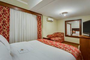 quarto hotel kuster | Hotel em Guarapuava