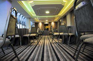 Salão de eventos - Hotel Kuster Guarapuava