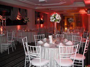 Salão de eventos decorado - Hotel Kuster Guarapuava