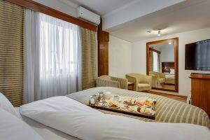 Quarto| Hotel Guarapuava Kuster