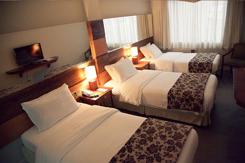 Hotel Guarapuava Kuster Paraná - Quartos de Luxo