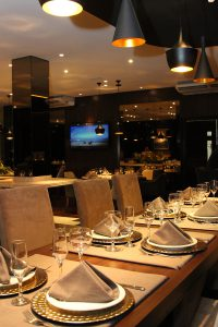 Ambiente do restaurante Kuster em Guarapuava