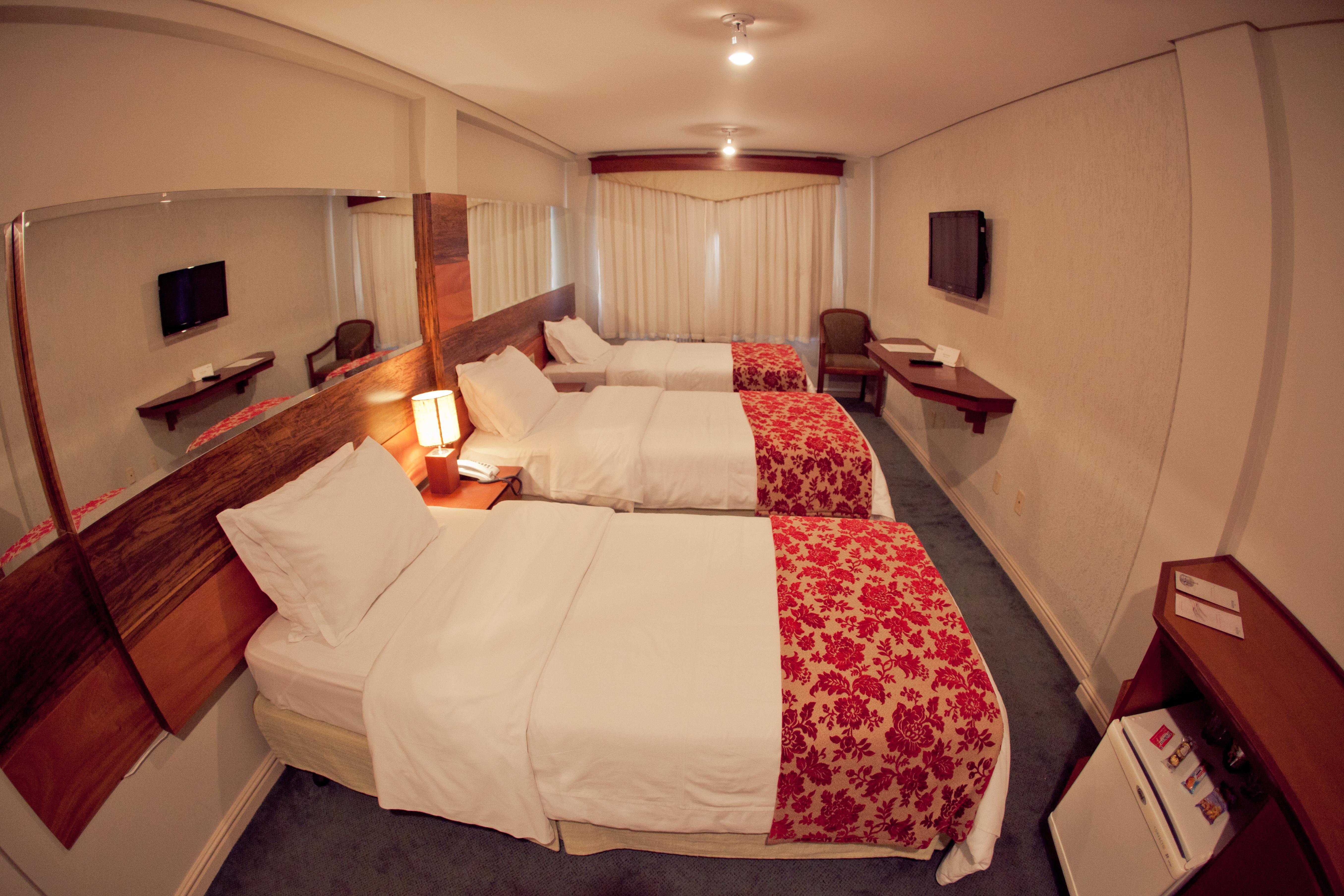 Quarto Super Luxo - Hotel Guarapuava
