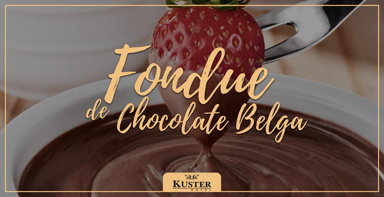fondue de chocolate belga