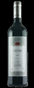 Garrafa de Artero Tempranillo La Mancha | vinhos | Hotel Guarapuava