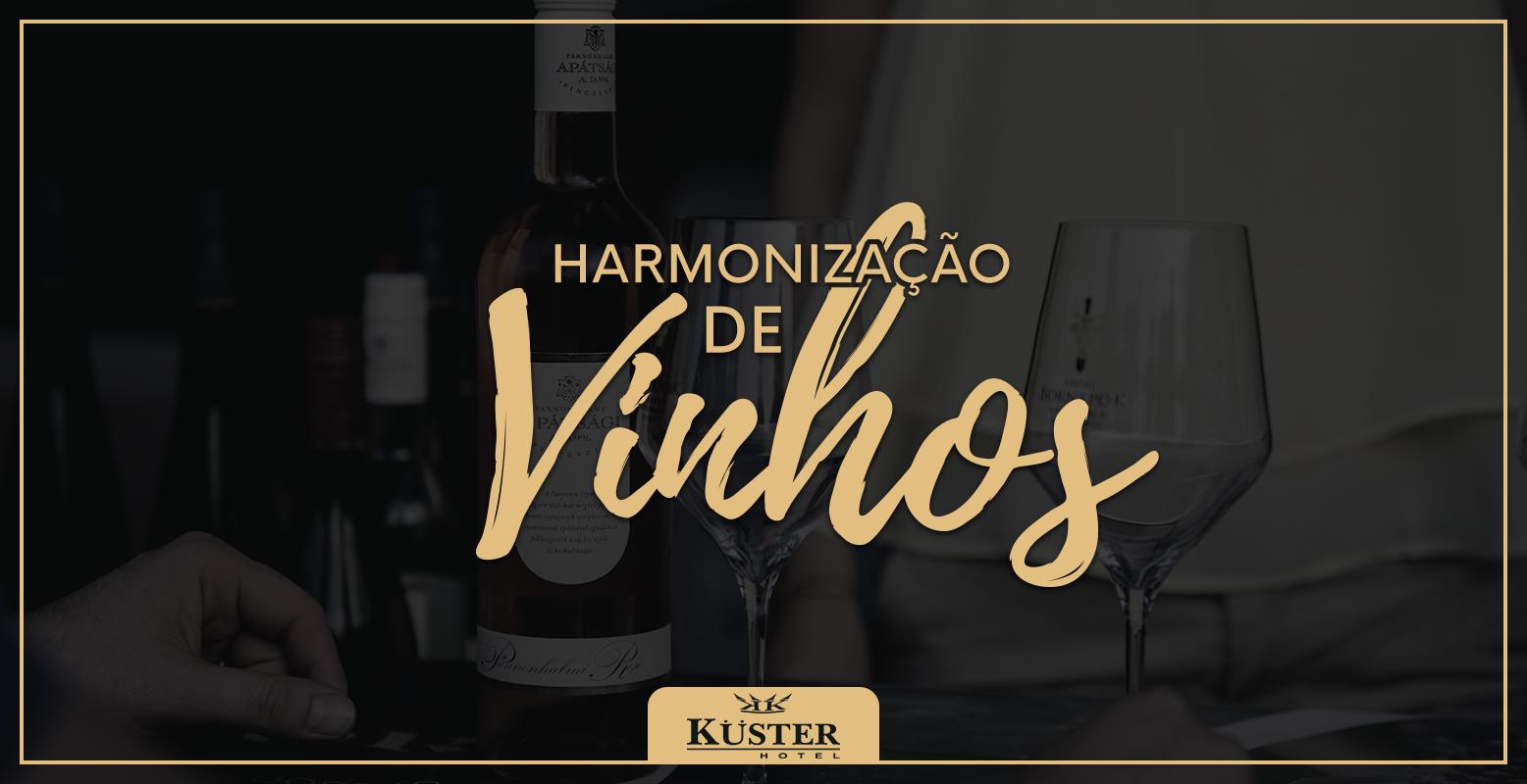harmonização de vinhos - Hotel Kuster | Hotel Guarapuava