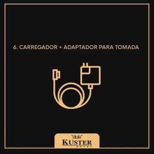 carregador + adaptador